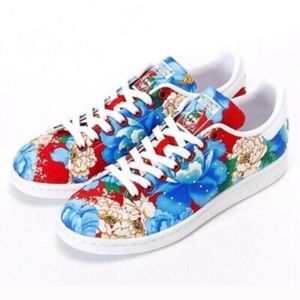 adidas x The FARM Stan Smith Floral Low Sneakers